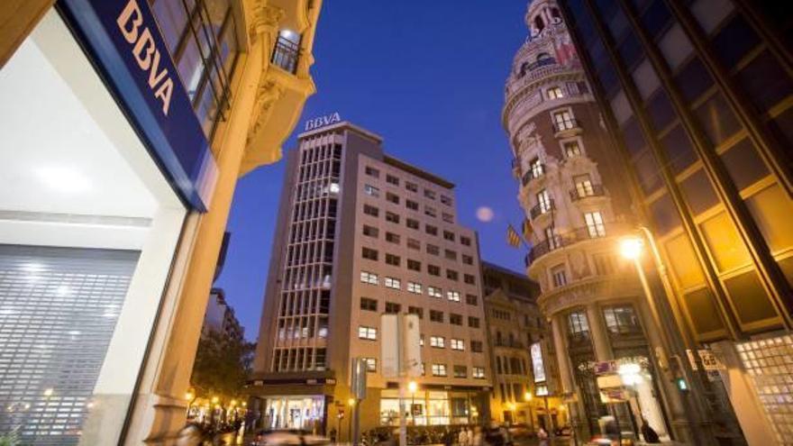El BBVA 'toma' la 'city' financiera de Valencia