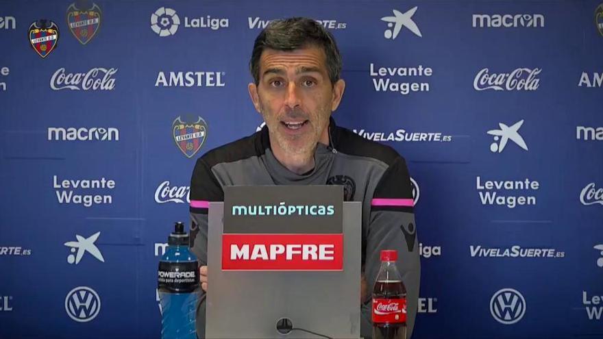 Villarreal - Levante: Rueda de prensa previa de Muñiz