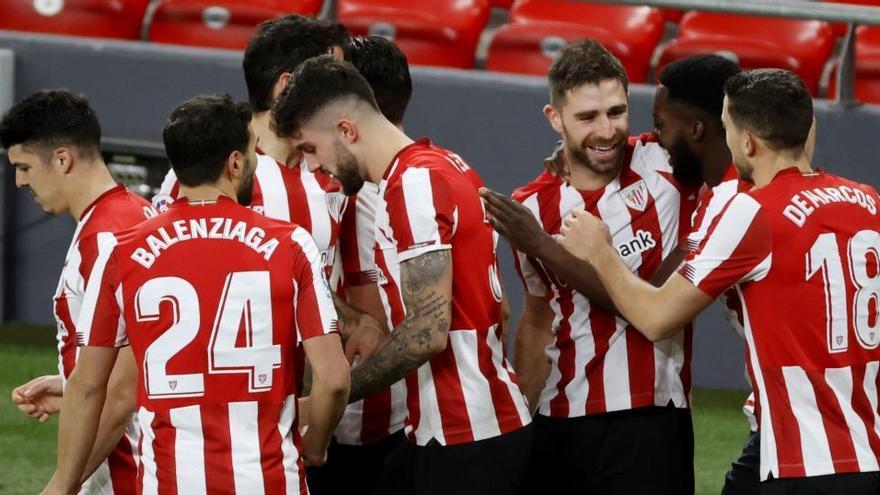 El Athletic golea al Getafe en una noche mágica en San Mamés
