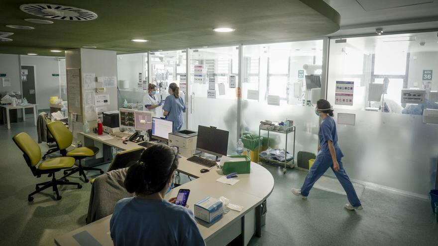 Baleares mantiene la presión hospitalaria pese al ingreso en tres días de 54 contagiados de covid