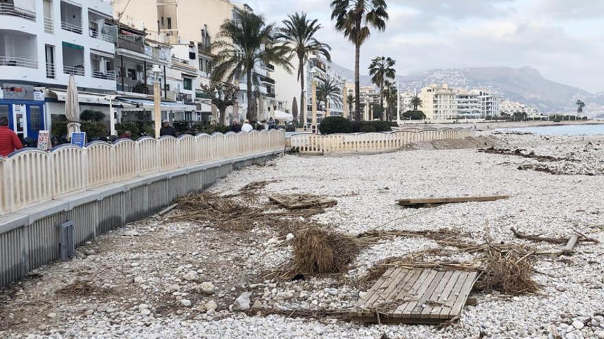 """Altea realizará el domingo una jornada de voluntariado para limpiar las playas afectadas por """"Gloria"""""""