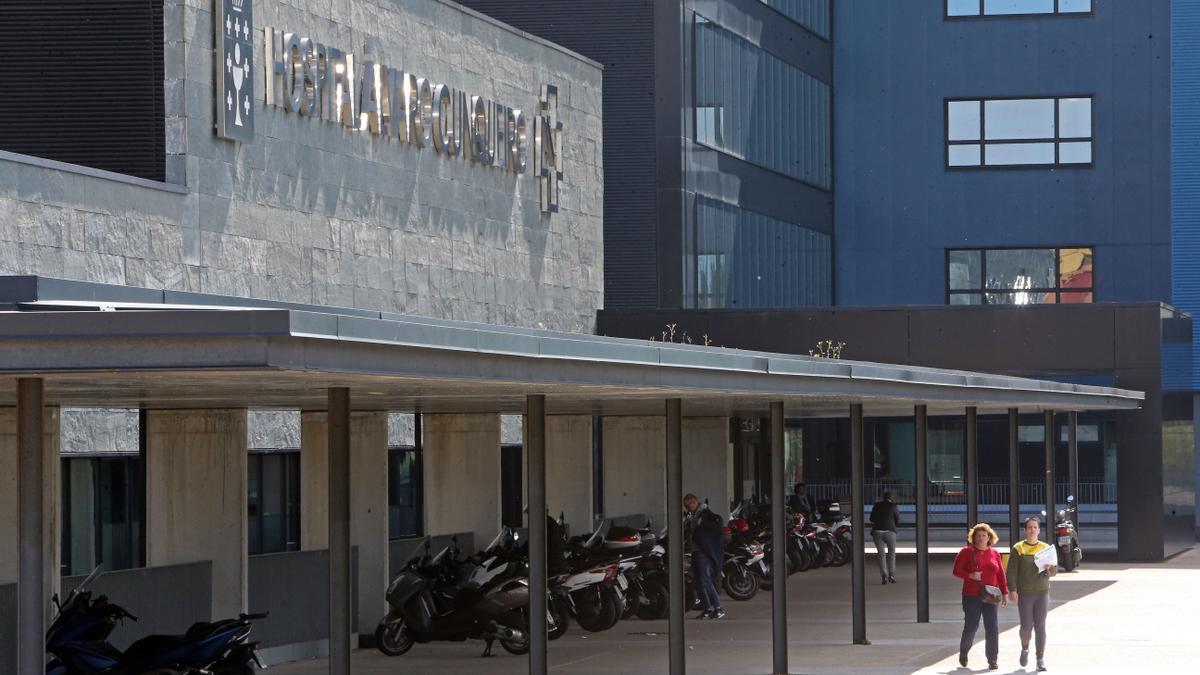 Hospital Álvaro Cunqueiro.