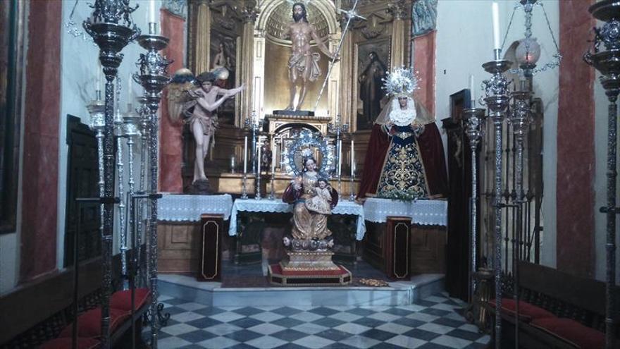 Festividad de la Candelaria en la hermandad del Resucitado