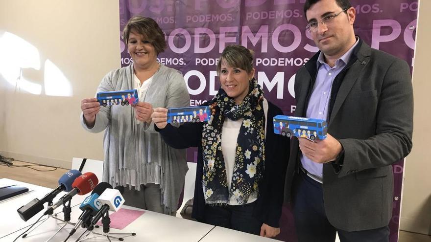 """El """"Tramabús"""" de Podemos visitará las cuatro provincias gallegas el viernes y sábado"""