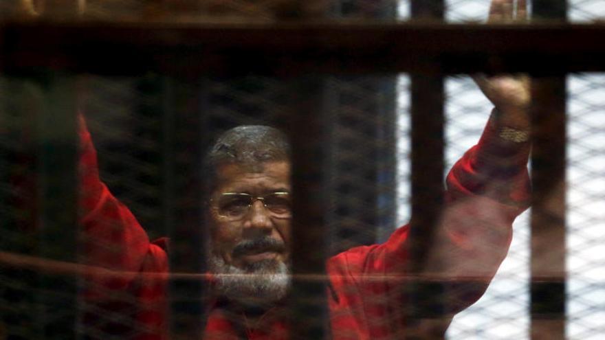 Mor l'expresident d'Egipte Mohamed Mursi mentre l'estaven jutjant