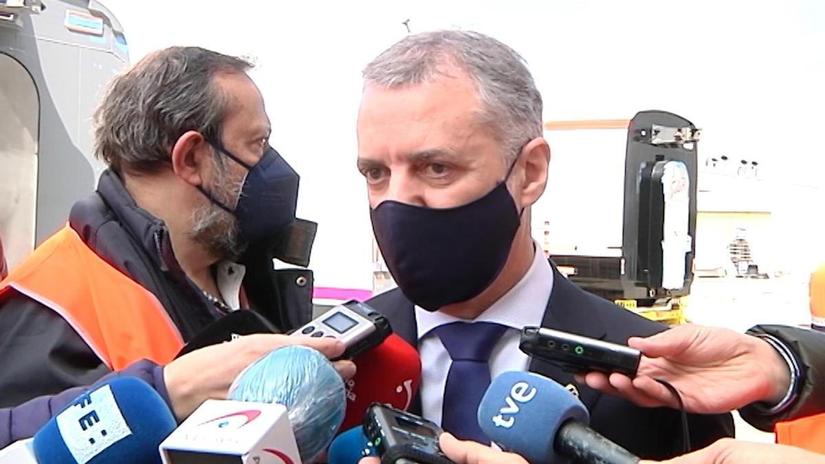 El lehendakari, Iñigo Urkullu.