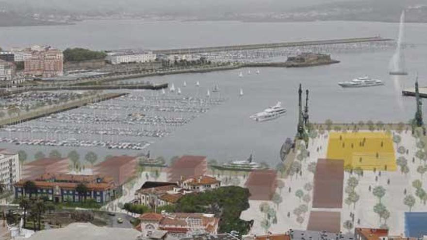 Los muelles sin uso portuario serán la gran oportunidad de A Coruña para ampliar su espacio de uso público
