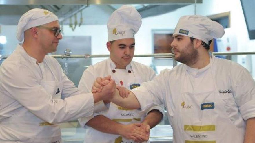 Dos zamoranos compiten en el certamen culinario Celichef