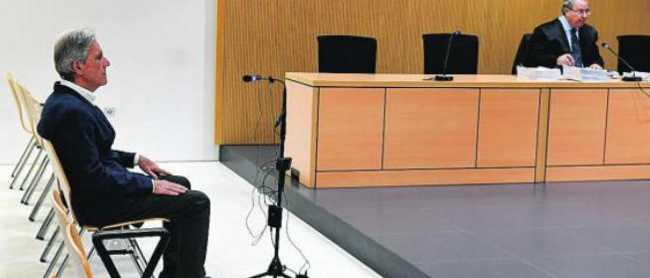 El ex jefe de Costas, José María Hernández, durante una sesión del juicio que se siguió contra él en 2019.