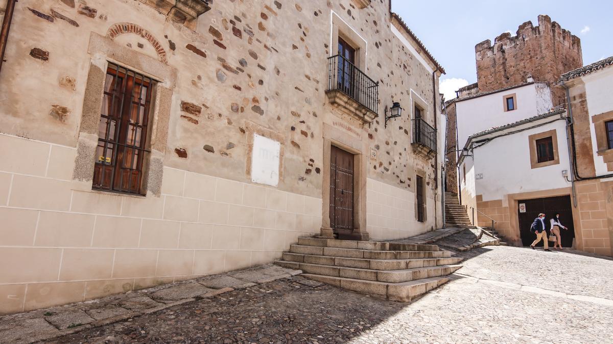 Imagen del Museo Municipal, que ocupa la Casa Mirón. Experimenta una reforma de continente y contenido.