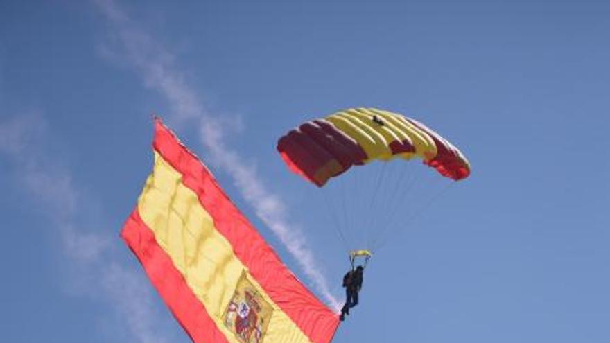 San Lorenzo despide el Festival Aéreo