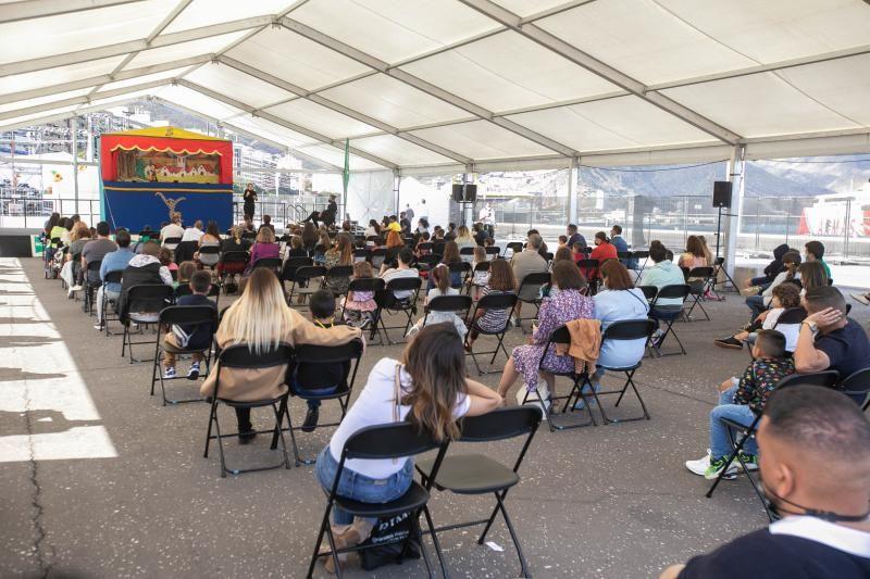 Actuación de Gorgorito por las Fiestas de Mayo de Santa Cruz de Tenerife.