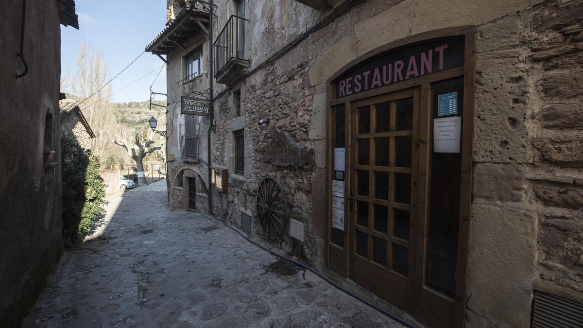 Municipi de Mura sense visitants ni turistes