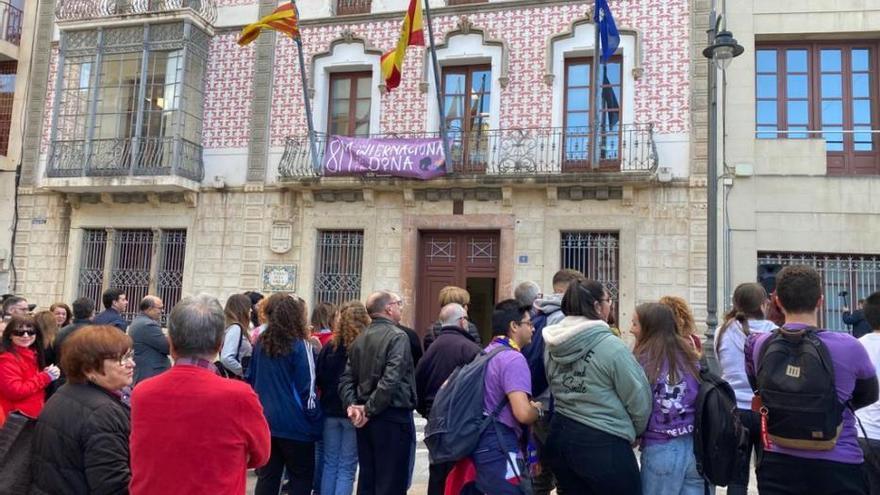 Actos por el 8-M en Santa Pola y Crevillent