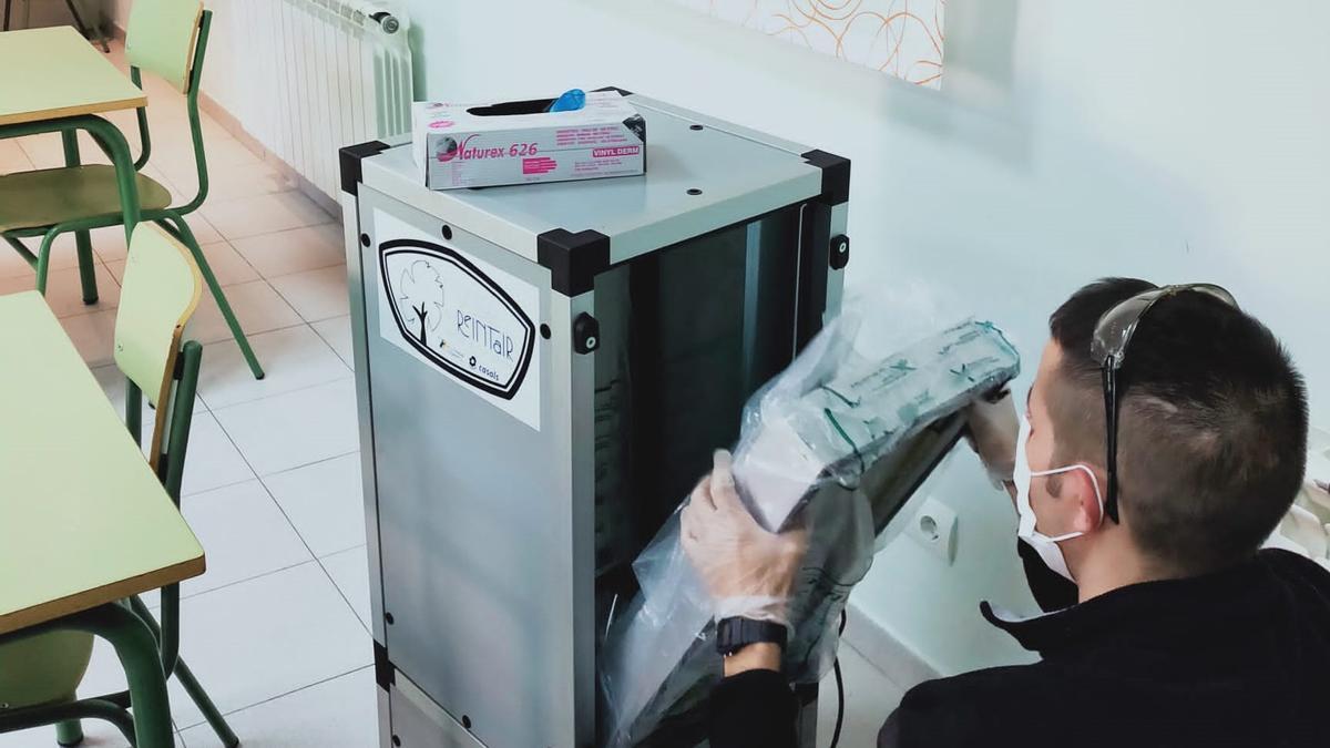 Uno de los purificadores comercializados por Norfil