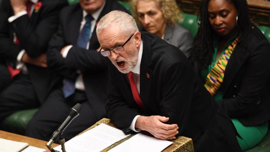 Los laboristas apoyarán el adelanto electoral para diciembre en Reino Unido