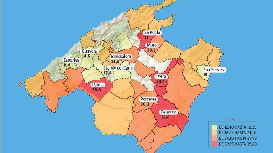 La Mallorca donde los niños crecen con desigualdad de oportunidades
