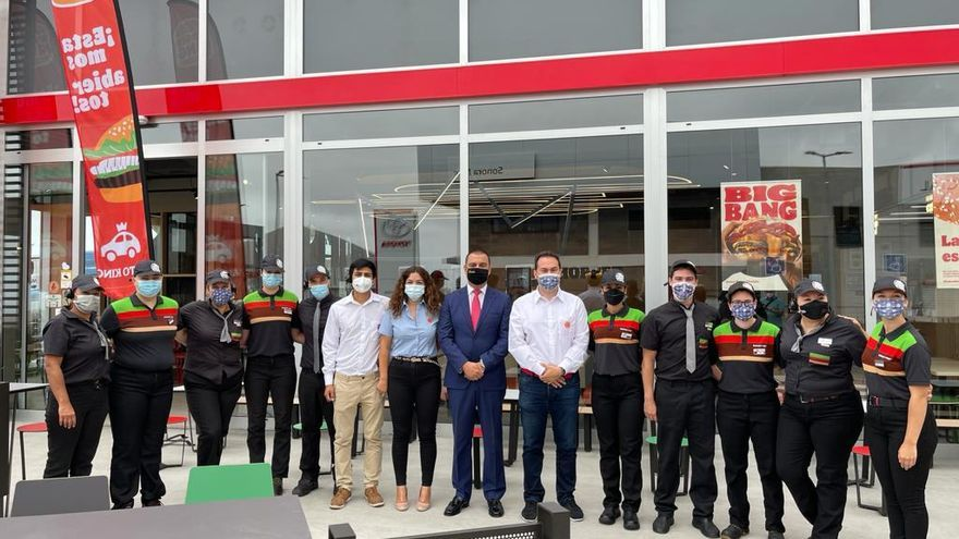 Burger King inaugura en Guía su primer local en el norte de Gran Canaria