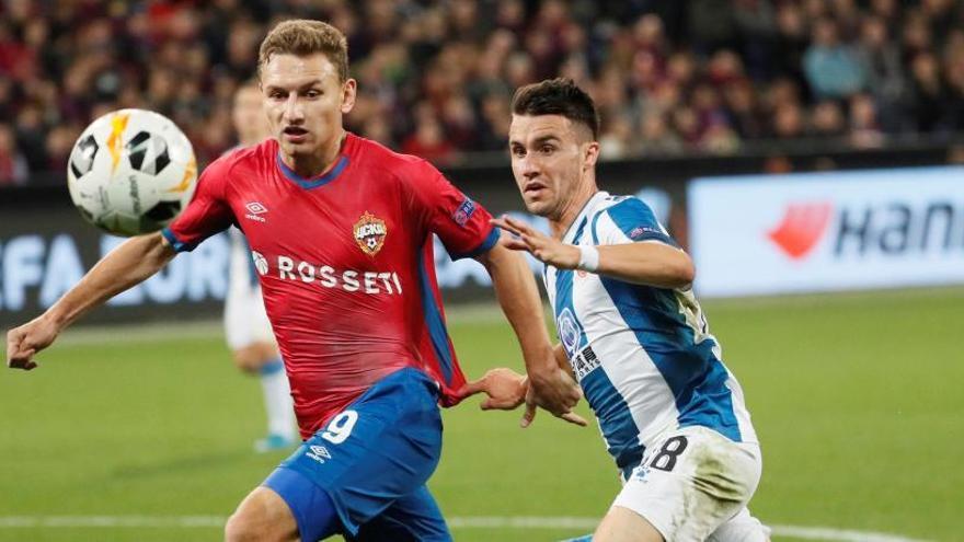 El Espanyol alivia su crisis con un triunfo ante el CSKA