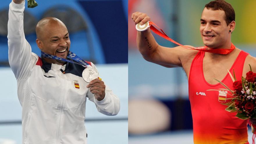 El gimnasta Ray Zapata relleva el mite Gervasio Deferr 13 anys després