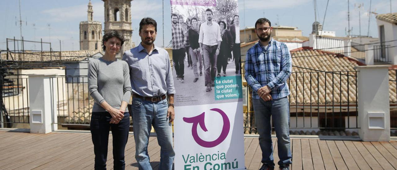 Podemos pide sustituir a Peris por Oliver en la portavocía de València en Comú