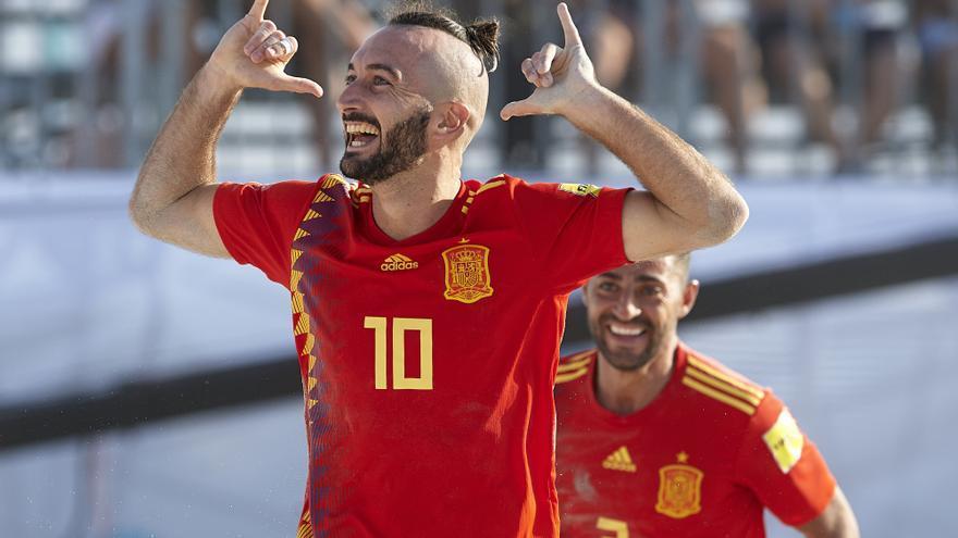 El San Francisco ficha a Llorenç Gómez, estrella mundial del fútbol playa