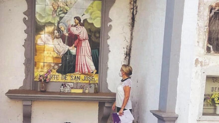El Partido Popular lamenta el deterioro del histórico cementerio de San Juan