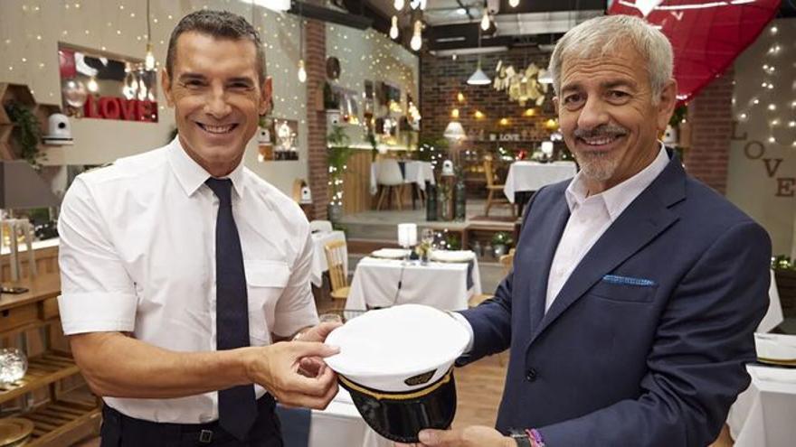 Jesús Vázquez se pone al frente de 'First Dates Crucero' en sustitución de Carlos Sobera