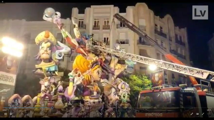 Desmontan dos piezas de Regne de València para evitar su desplome