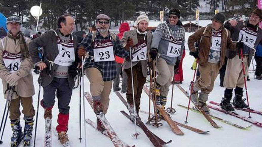 Celebren els 75 anys de l'estació de La Molina amb una esquiada retro