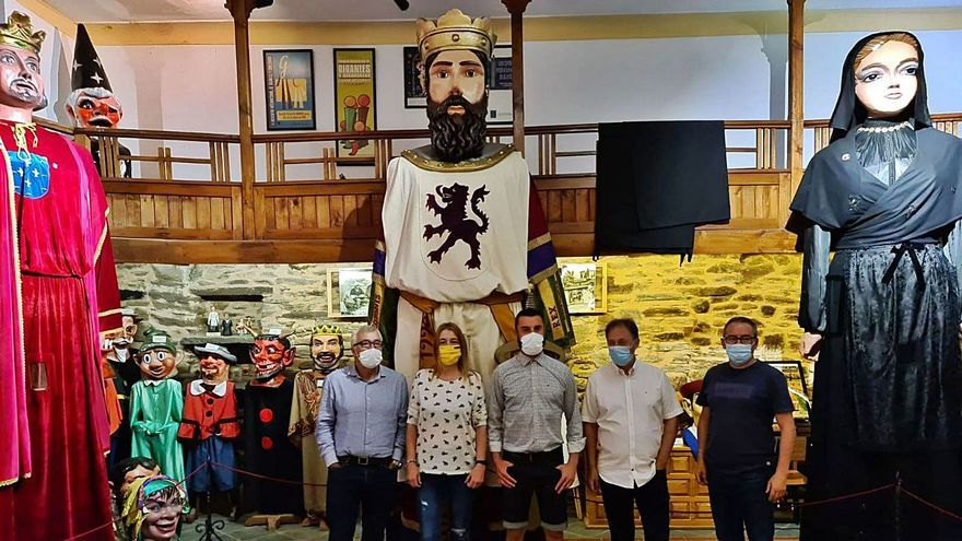 Alfonso IX, el nuevo gigante de Puebla de Sanabria