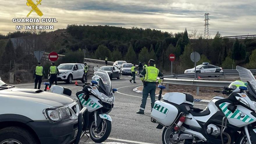 Pillado en Teruel un camionero que sextuplicaba la tasa de alcohol