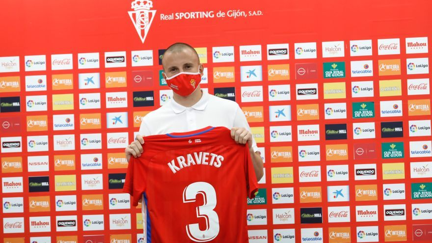 El covid-19 evitó que Kravets fichara por el Sporting la pasada temporada