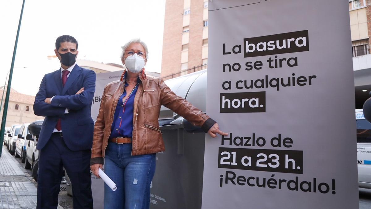 Teresa Porras ha presentado la nueva campaña municipal de limpieza 'Ser limpios por Málaga'