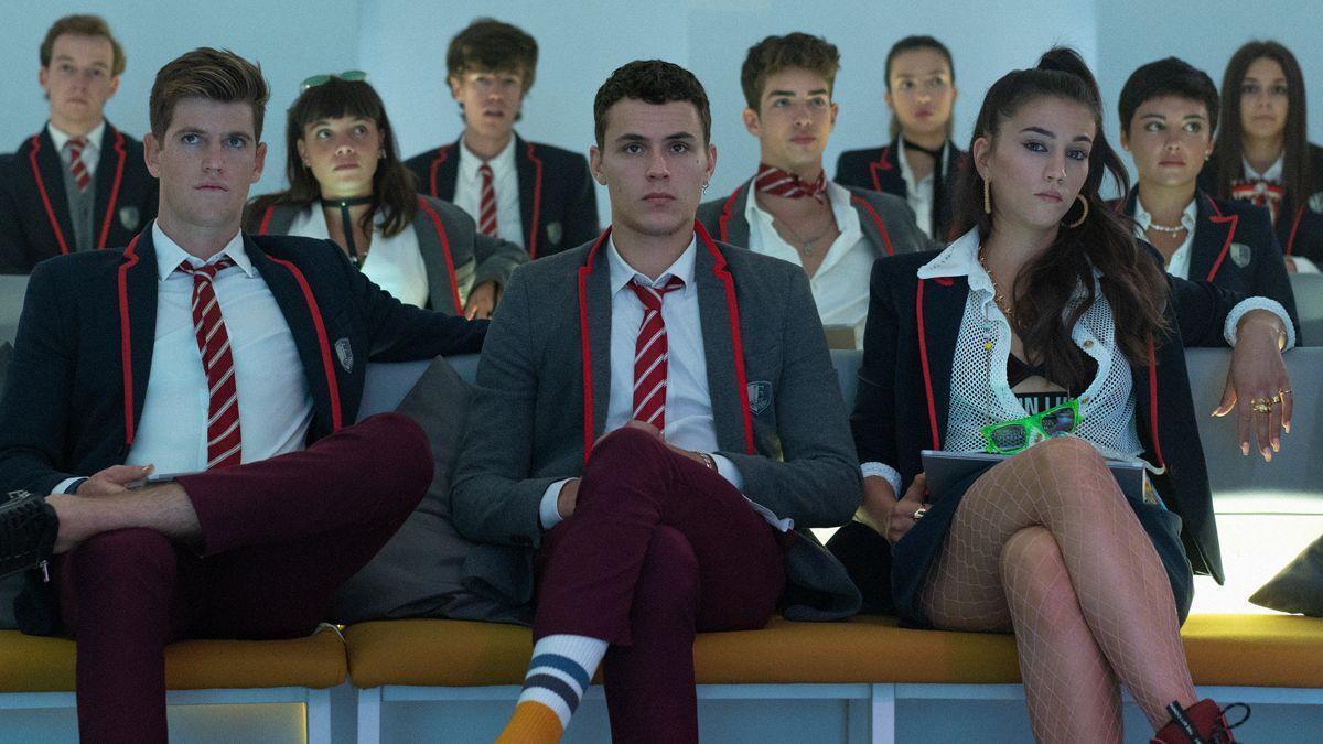 Netflix enseña nuevas imágenes de la cuarta temporada de 'Élite'.
