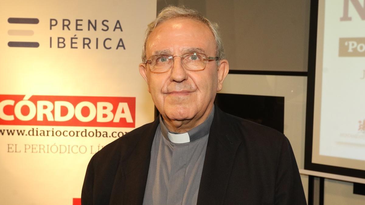 Manuel Pérez Moya, presidente del Cabildo Catedral de Córdoba.