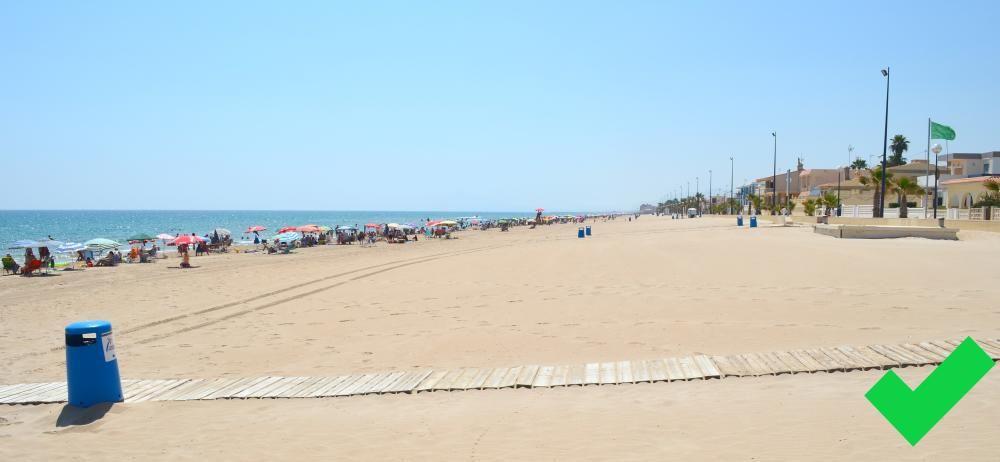 Playa de Miramar. La Safor.