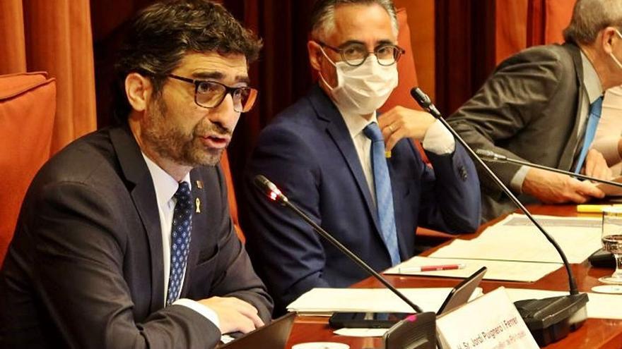 Puigneró es compromet a destinar el 2022 una partida a desplegar la fibra