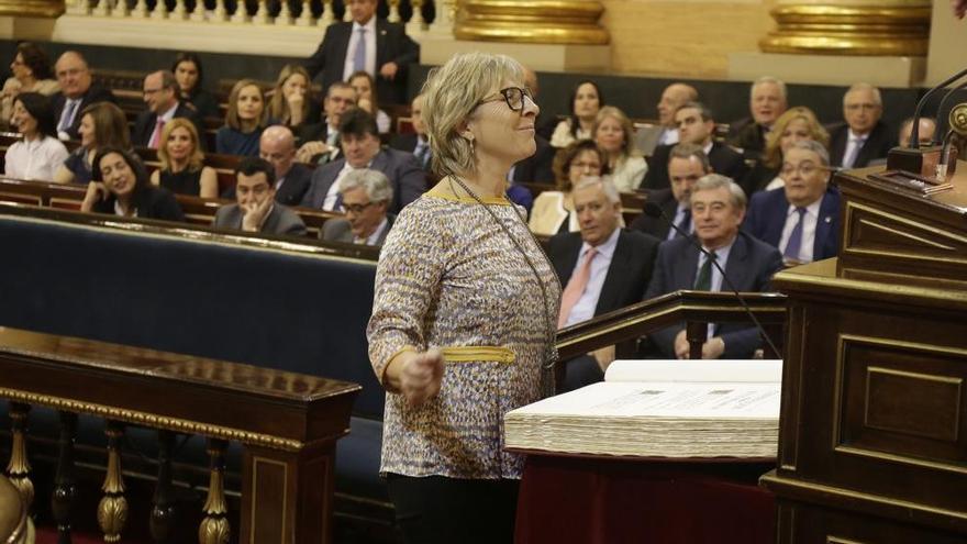 Mirella Cortès: «Ens hem sumat al minut de silenci per Barberá, però no als aplaudiments»