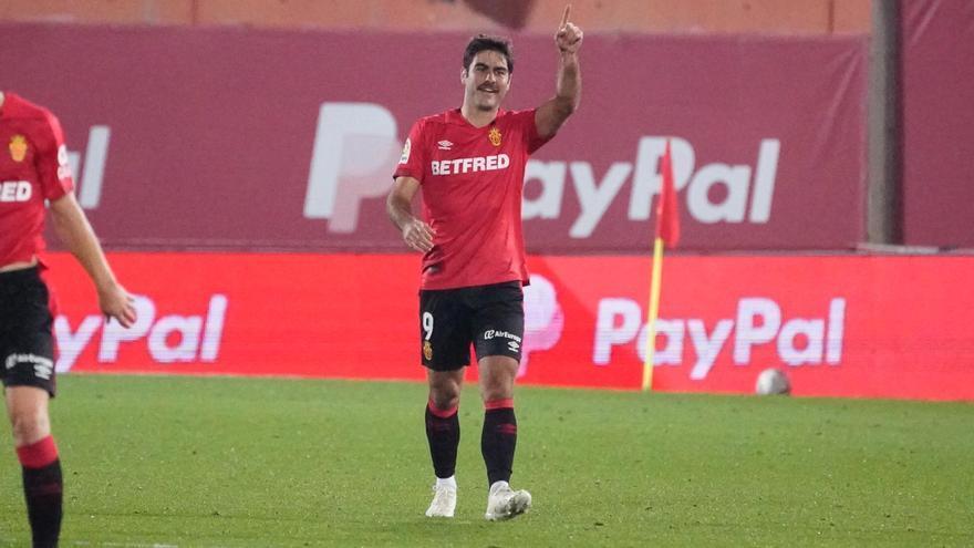 Abdón Prats vuelve a marcar con el Mallorca 525 días después