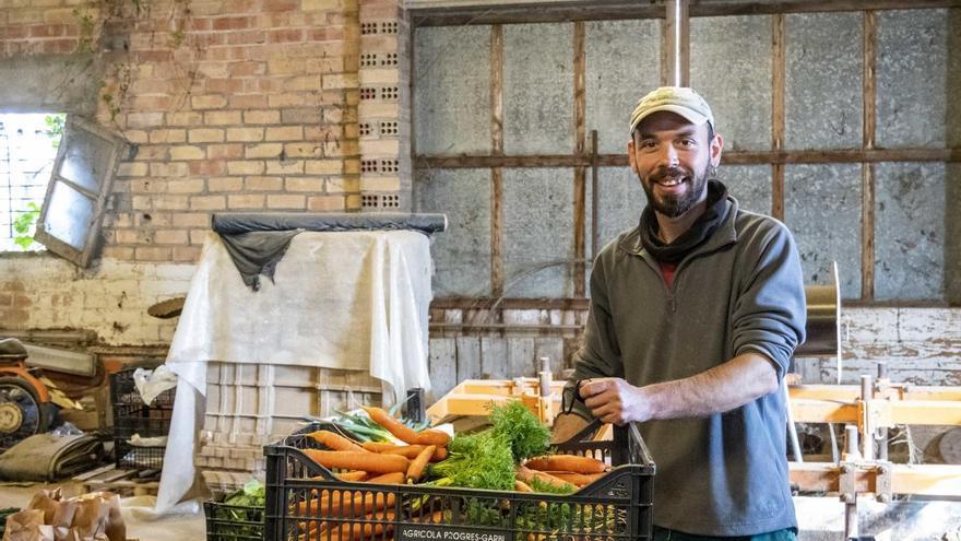 Eduard Martí (Mas Galceran): «Amb Xarxa Pagesa creem el nostre propi mercat»