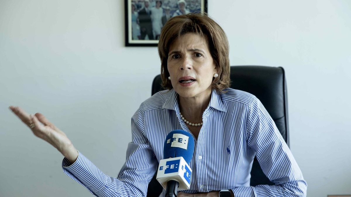 La líder opositora de Nicaragua, Cristina Chamorro.