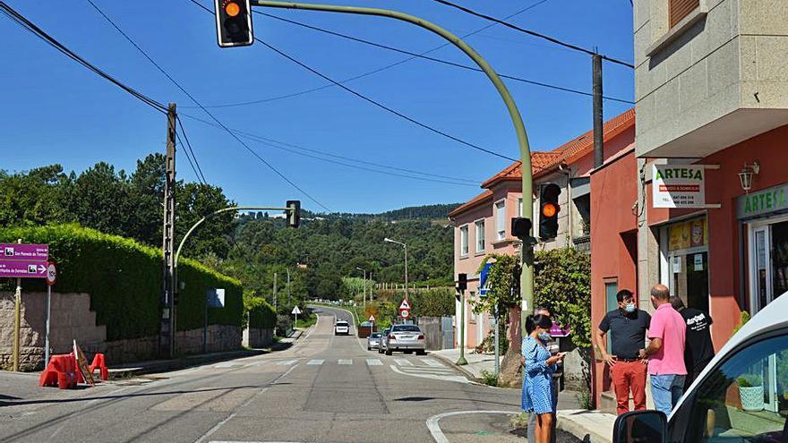 Los semáforos de Puxeiros y Guizán volverán a funcionar