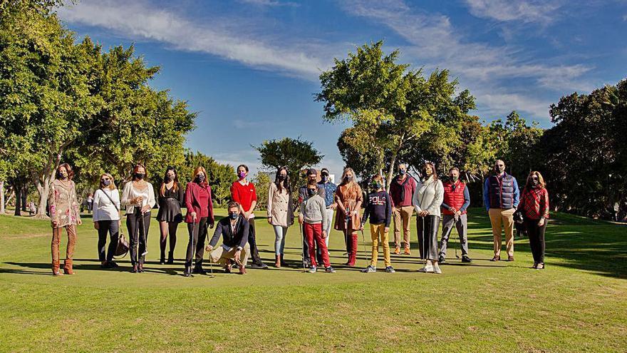 Torneo solidario de golf patrocinado