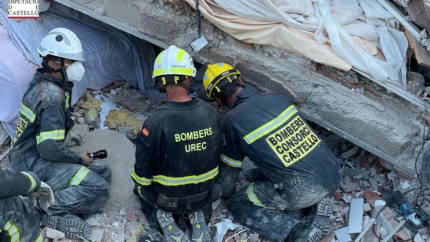 El sonido del móvil de la mujer sepultada en Peñíscola ayudó a localizarla