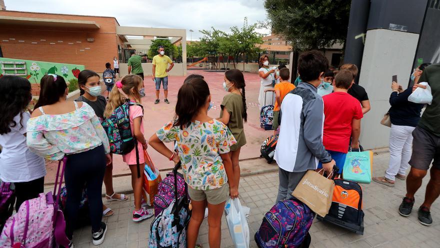 Los colegios se despiden de la covid sin casi rastro del virus