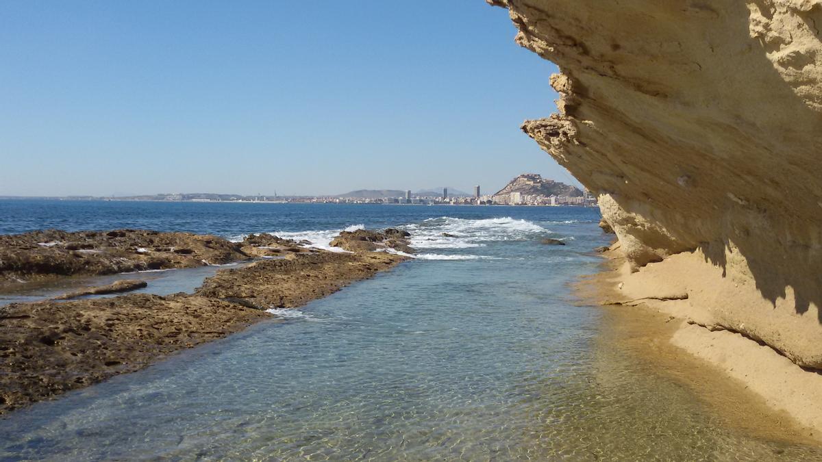 Zona del Cabo de las Huertas en Alicante