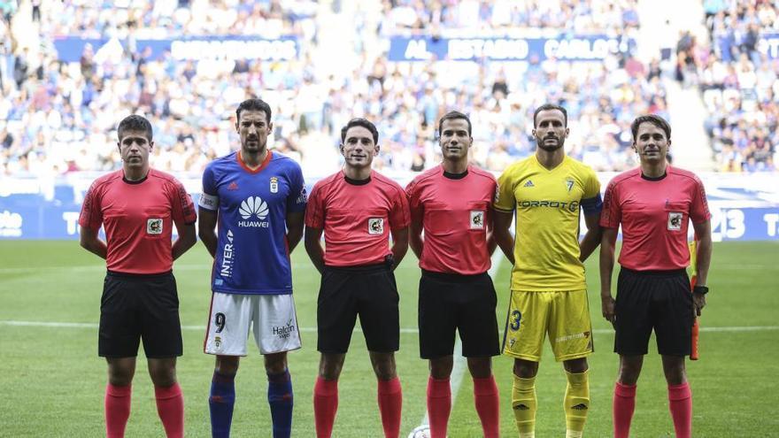 El árbitro de Almería, al frente del VAR en el Fuenlabrada - Málaga