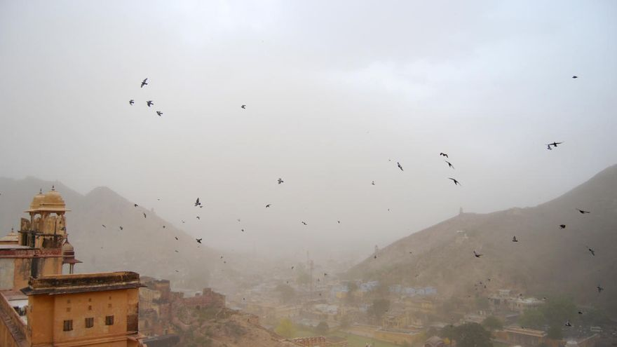 Jaipur: la tormenta de arena