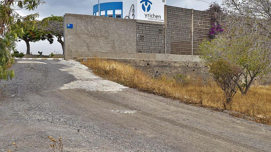 El PGO contempla el arreglo de  la carretera de acceso a Yrichen